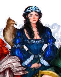Rowena Ravenclaw by albus119