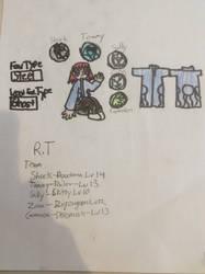 Rt (Richard Theodore Vulcana) new reference   by pokeheartless