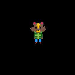 Bangle 8-bit Sprite by pokeheartless