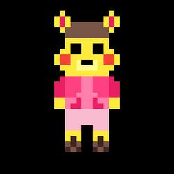 Tammy Auga 8-Bit Spritw by pokeheartless