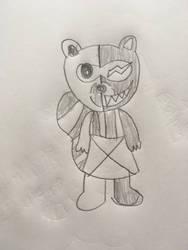 Mononookie  by pokeheartless