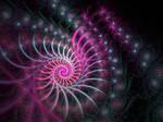 Candy Twirl VII - Black