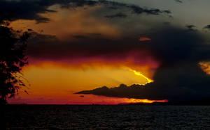 Fire  Sunset by gvdev