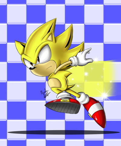 Classic Super Sonic by chickenoverlord on DeviantArt