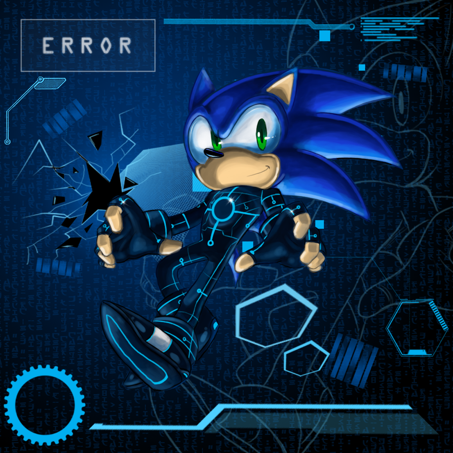 Sonic: Tech by chickenoverlord