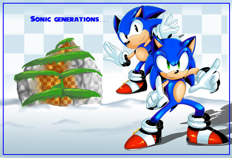 Sonic:Generations by chickenoverlord