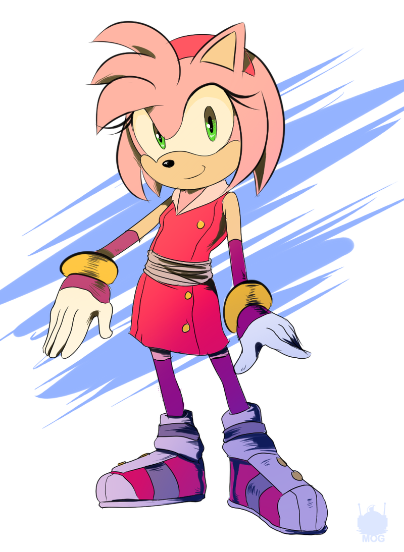 Sonic Boom: Amy by chickenoverlord on DeviantArt Sonic Boom Amy