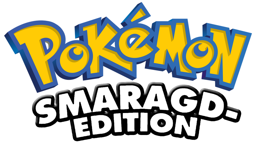 Logo Pokemon Smaragd Edition Emerald 587593320