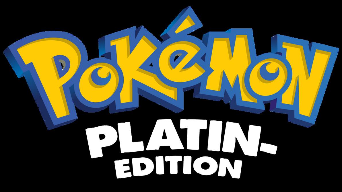 Logo Pokemon Platin Edition Platinum 587607869