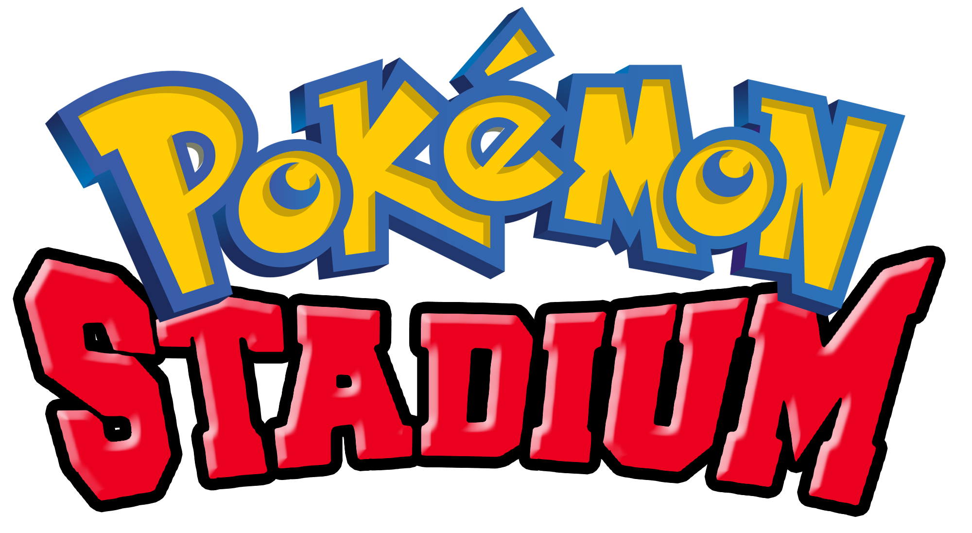Logo Pokemon Stadium 596952177