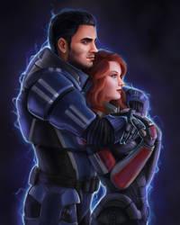 Gina Shepard and Kaidan v.2 by Sathynae