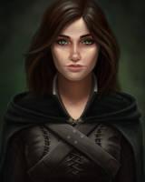 Emilia Cousland by Sathynae