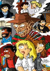 Fanart Nightmare on Elm Street 3 by JuanAlvarezFuente