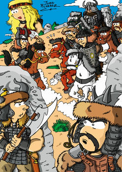 Fanart Conan the Barbarian