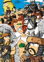 Fanart Conan the Barbarian by JuanAlvarezFuente