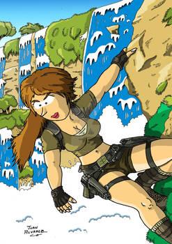 Fanart Lara Croft Tomb Raider Legend