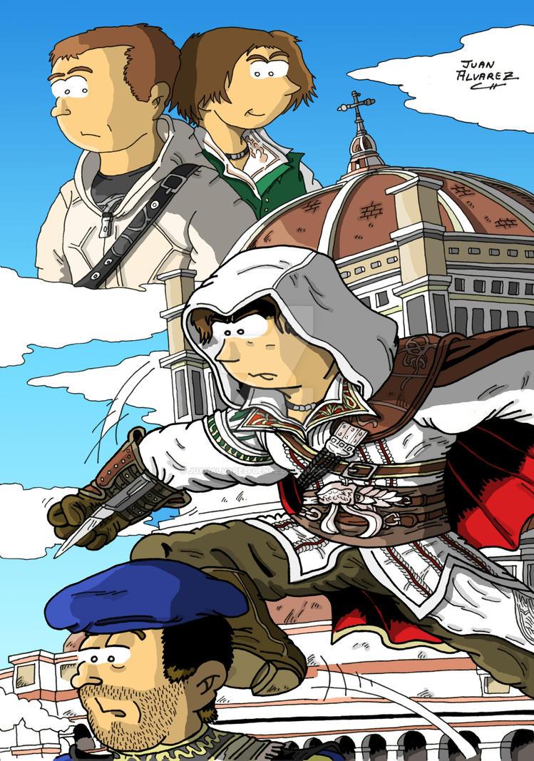 Fanart Assassins Creed 2 by JuanAlvarezFuente