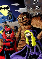 Fanart Batman family Detective Comics