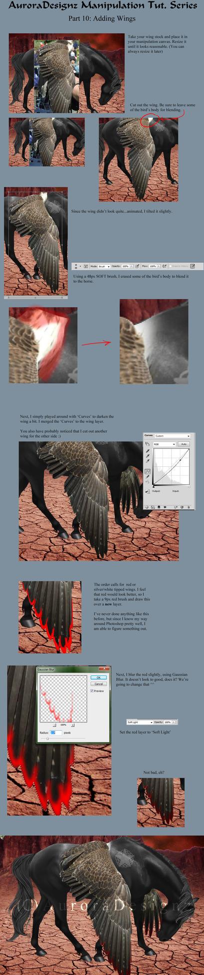 AuroraTutSeries Part 10: Adding Wings by xxAuroraStudios