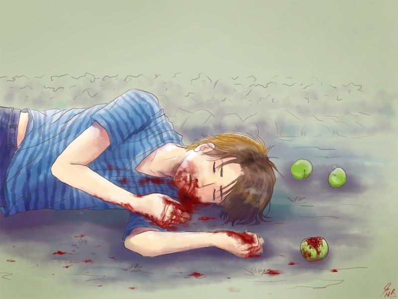 Kouta Bleeding by nycken