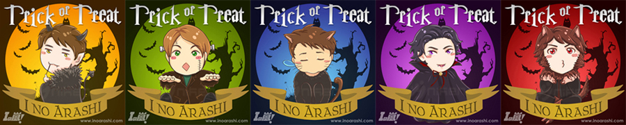 Arashi Halloween by nycken