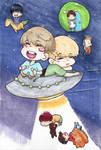 Kpop: BTS in Space