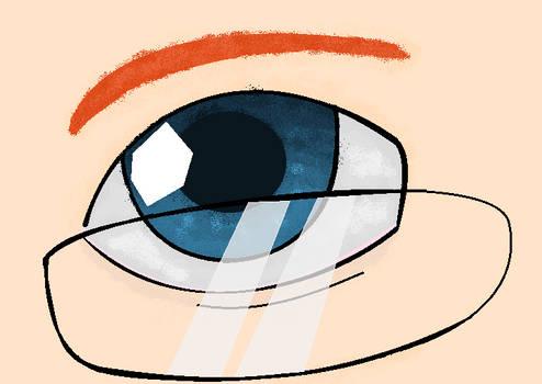Nicolae's eye