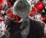 Hazama Bloodtastic by xyinparadise
