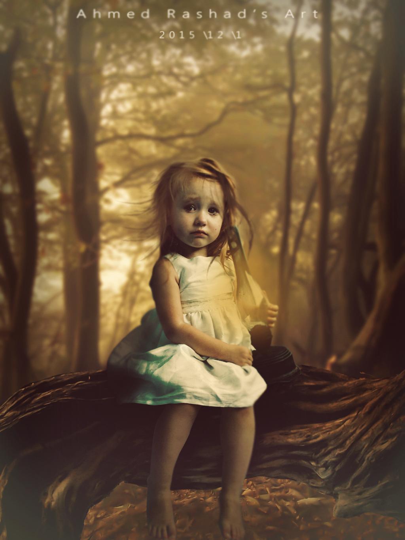 cute girl (1) Edit by Ahmed Rashad by Ahmed-Rashad-Art