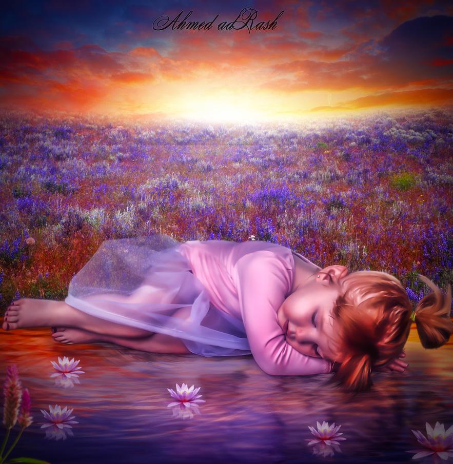 childhood by Ahmed-Rashad-Art