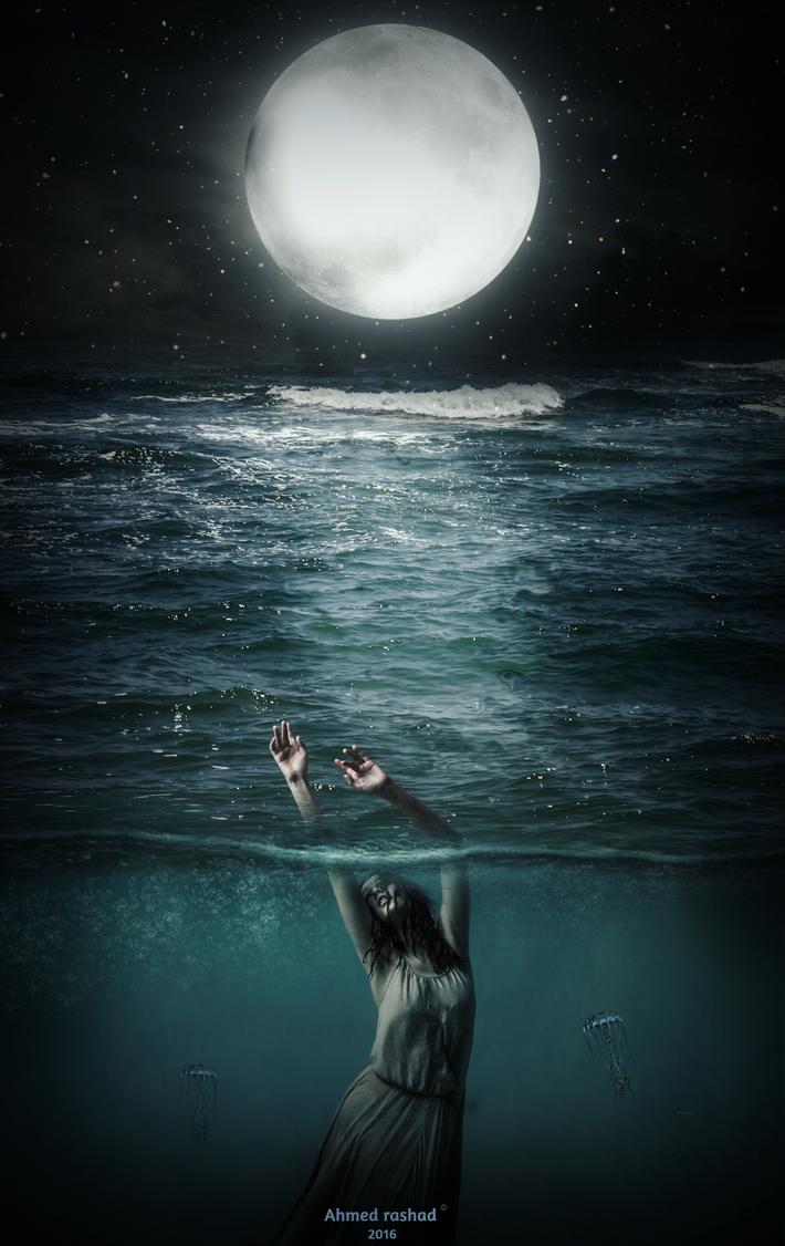 Sea Trouble by Ahmed-Rashad-Art