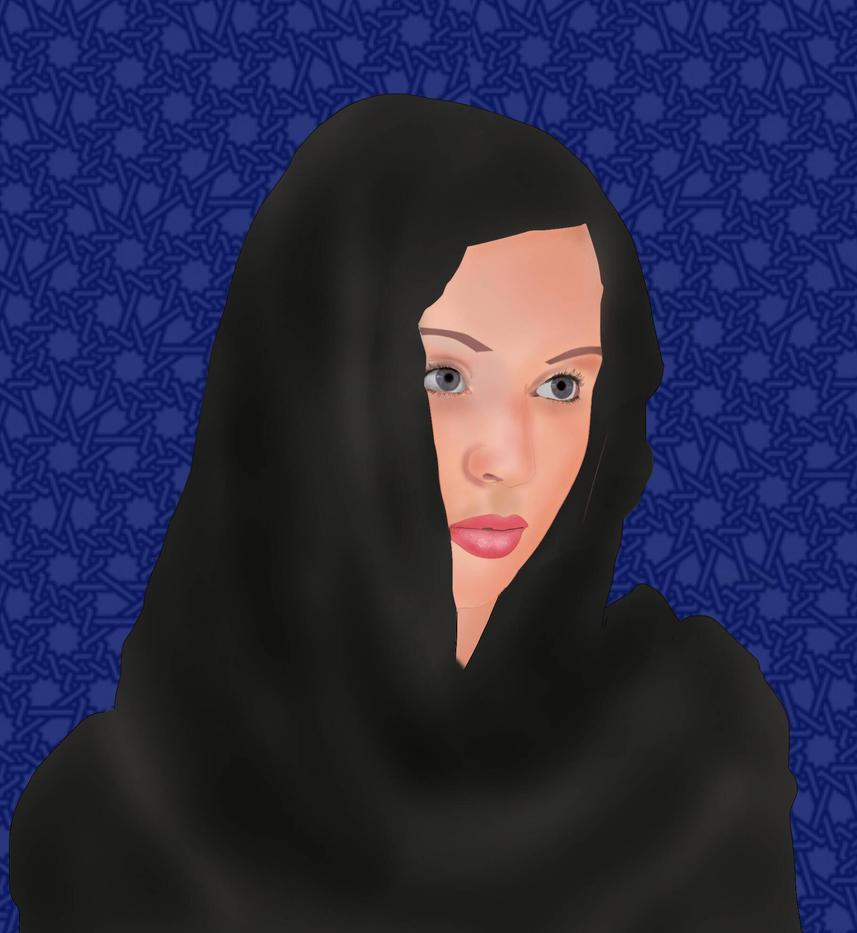 hijab by Ahmed-Rashad-Art