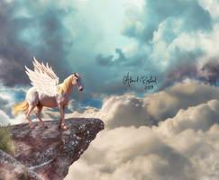 reaching to the heaven by Ahmed-Rashad-Art