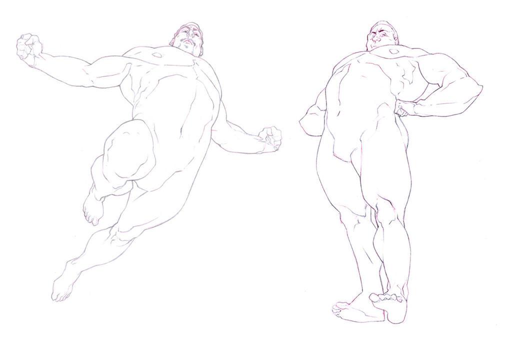 Famous Male Anatomy Poses Elaboration - Anatomy Ideas - yunoki.info