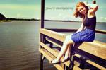 Summer By The Lake by haiku-loves-yuri
