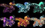 Quad-Raptors Adoptable OPEN (SALE)