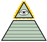 Illuminati Pyramid by geoduck42