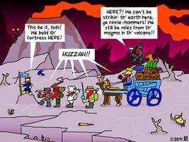 Dwarf Fortress founding by geoduck42