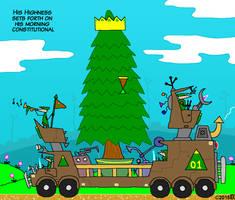 Tree king cartoon
