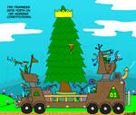 Tree king cartoon