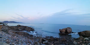 Seaside in Qingdao