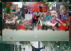 [SHARE PSD] Xiumin #HBD 0326 @EXO by SuzyKimJaeXi