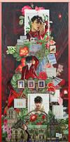 [SHARE PSD] Lay YIXING #Harper's Bazaar @EXO by SuzyKimJaeXi