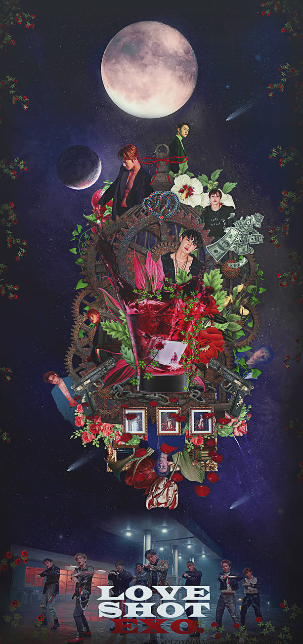 [NO PSD] #LOVESHOT NIGHT VERSION @EXO by SuzyKimJaeXi