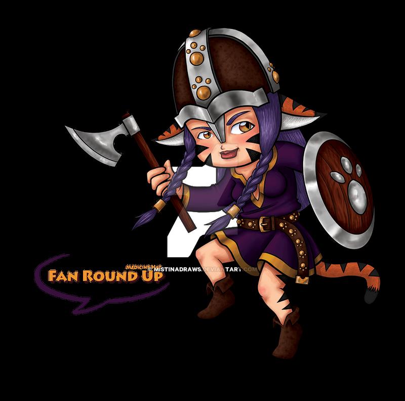 2013 'Fan Round Up' Mascot (Chibi Version)
