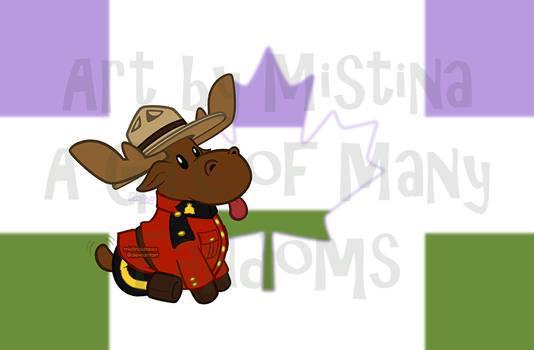 Mountie Moose: PRIDE REMIX! (#06 Agender)
