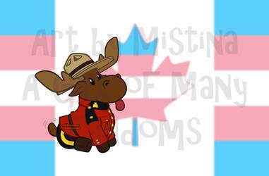 Mountie Moose: PRIDE REMIX! (#05 Transgender)