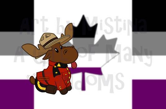 Mountie Moose: PRIDE REMIX! (#04 Asexual)