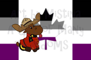 Mountie Moose: PRIDE REMIX! (#01 Asexual)