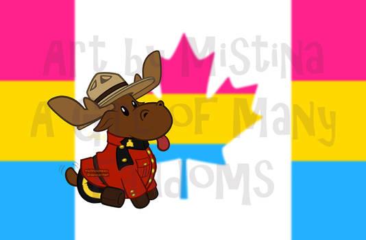 Mountie Moose: PRIDE REMIX! (#03 Pansexual)